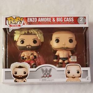 Funko POP! WWE Enzo Amore & Big Cass 2Pack NIB